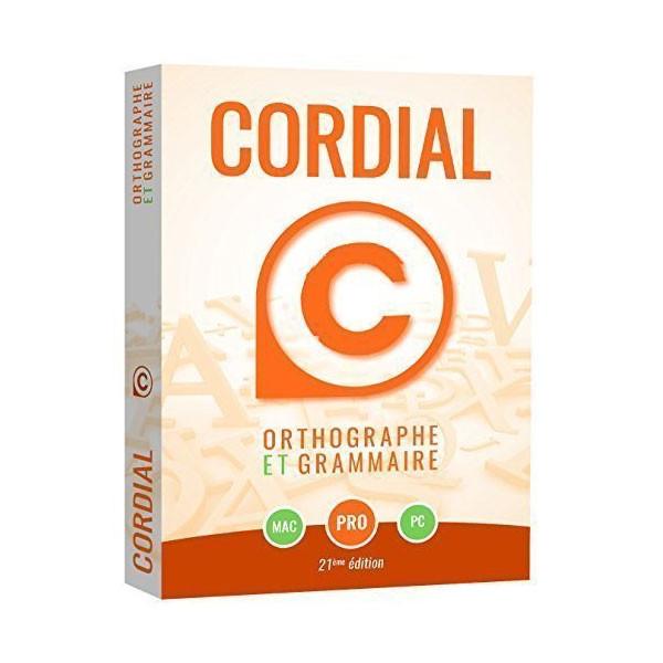 Dysorthograhie : logiciel d'aide à la rédaction et à la correction orthographique Cordial Pro
