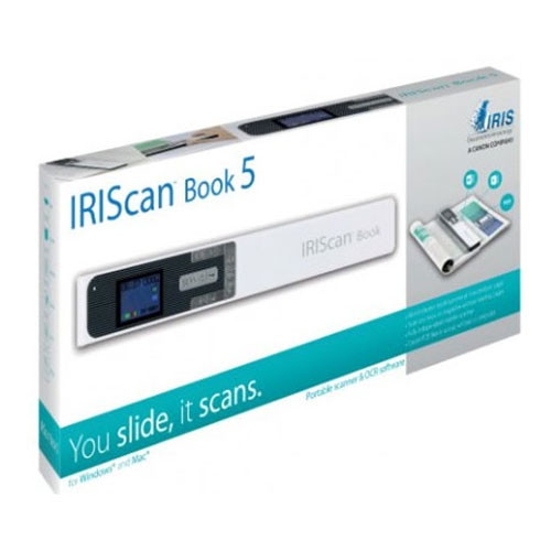 Scanner manuel IRISCAN BOOK 5