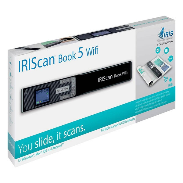 Scanner manuel IRISCAN BOOK 5 WIFI