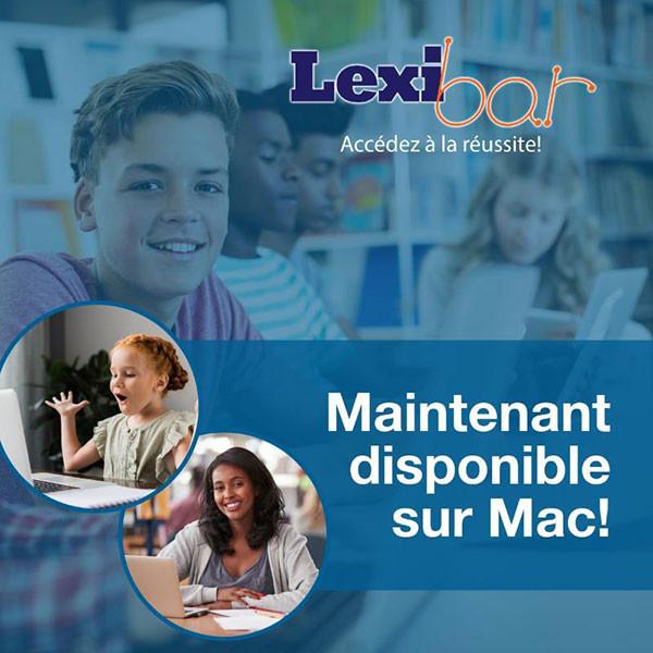 Lexibar pour Mac  - Prédicteur de mots bilingue
