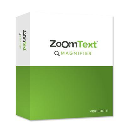 Logiciel de grossissement d'écran ZoomText Magnifier pour malvoyants