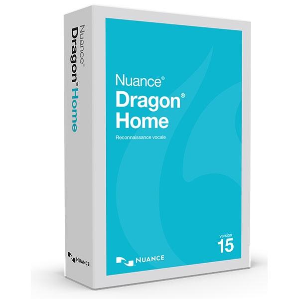 Logiciel de dictée vocale  Dragon Home 15
