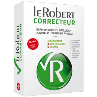 Le Robert Correcteur - Correction de l'orthographe et de la grammaire