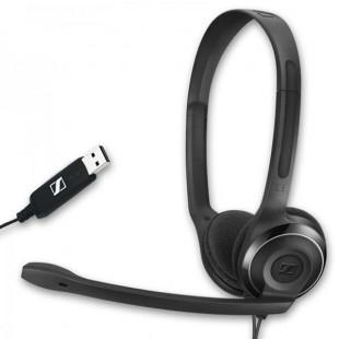 Micro-casque USB Stéréo avec 2 écouteurs pour dictée vocale
