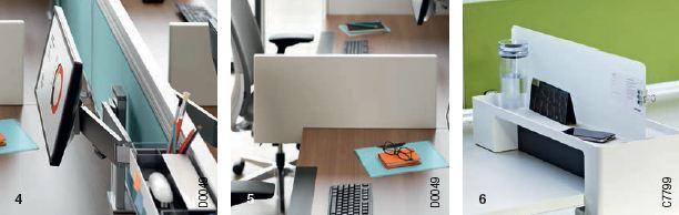 Accessoires pour bureau ergonomique Ology