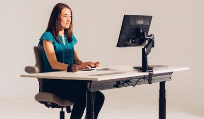 Bras articulé ergonomique support écran