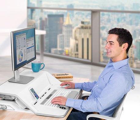 Lutter contre la sédentarité avec un bureau ergonomique