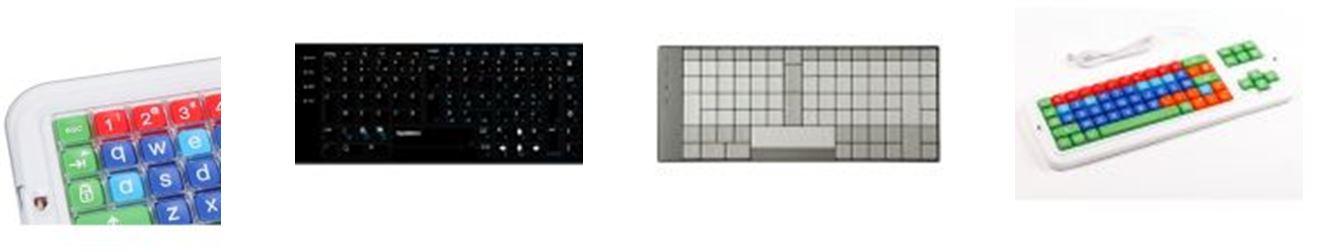 Claviers ergonomiques spécifiques à dispositions alternatives