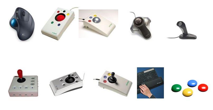 Souris et contacteurs ergonomiques pour handicap et TMS