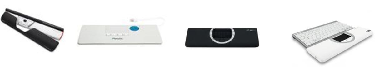 Pointeurs centraux ergonomiques