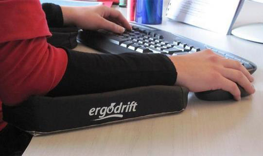 Support de bras Ergodrift pour handicap et TMS