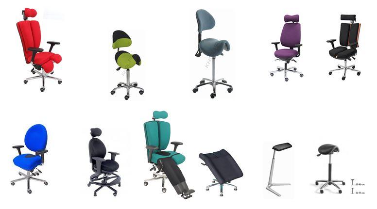 Sièges de bureau ergonomiques adaptés au handicap