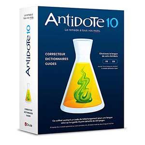 Correcteur d'orthographe Antidote