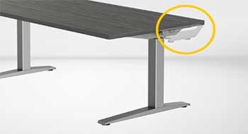 Bureau assis-debout Levado : comment ça marche