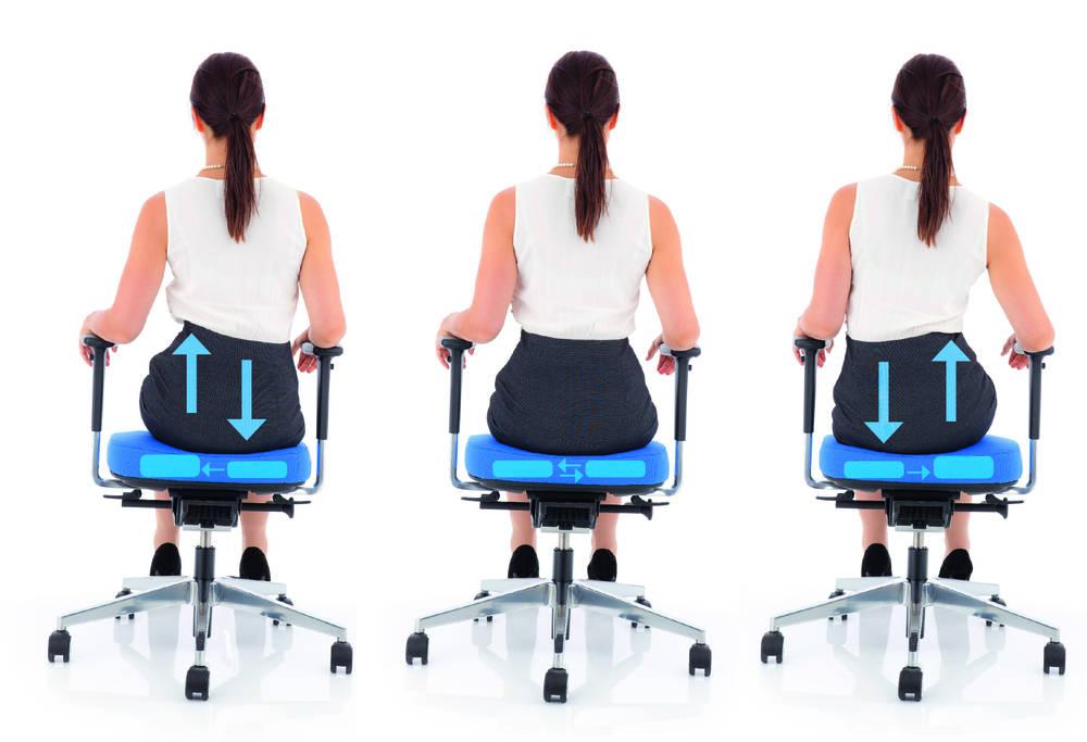 Maintenez votre corps en mouvement avec inspire Air Seat