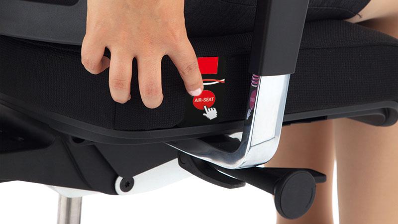 Réglage Air Seat pour siège ergonomique Inspire