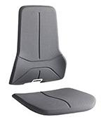 Revêtement Supertec pour siège ergonomique Néon production